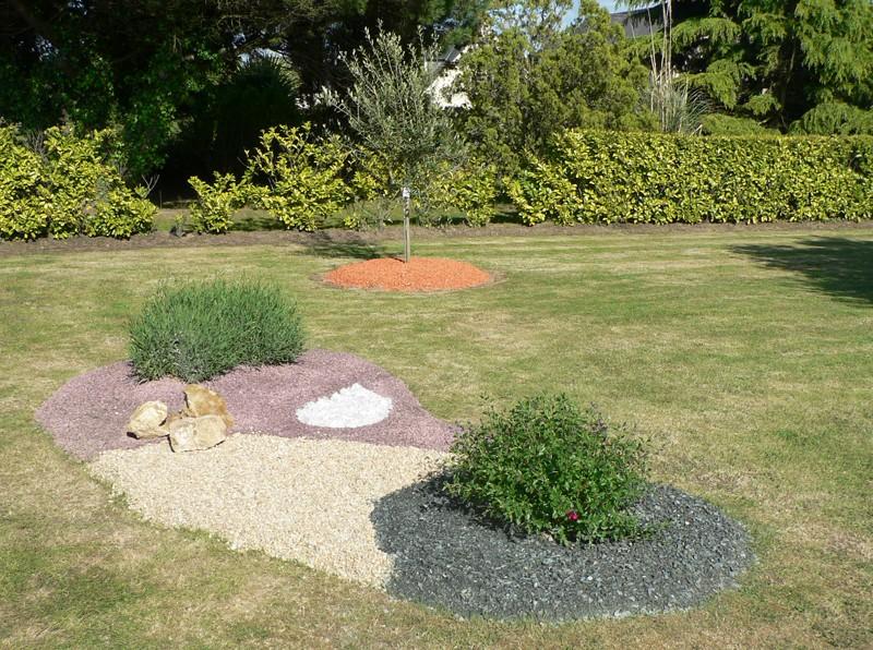 Gravier 6 10 ou 5 15 calcaire mat riaux d coration - Gravier decoratif point p ...